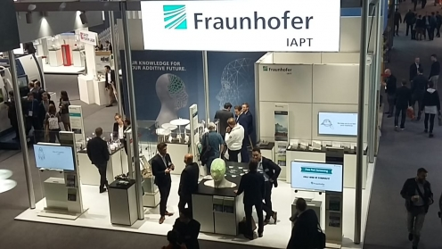 Messestand Fraunhofer IAPT