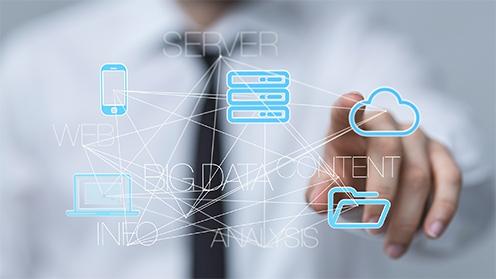 """Verknüpfung von Daten mittels eines """"Energy-Information-Hubs"""", Bild: © vege- Fotolia"""